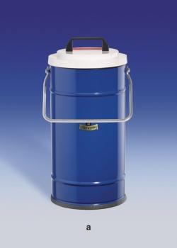 Dewargefäße mit großem Volumen, zylindrische Form, für CO2 und LN2