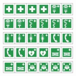 Rettungszeichen, Minisymbol