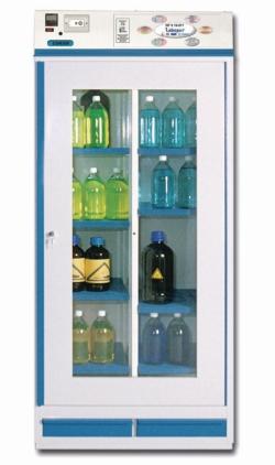Chemikalienschränke mit Umluftfilter LABOPUR® SERIE 12.X