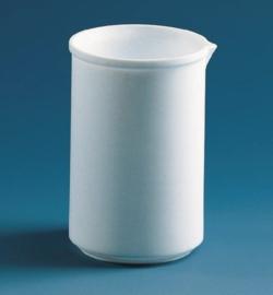 Becher, niedrige Form, PTFE